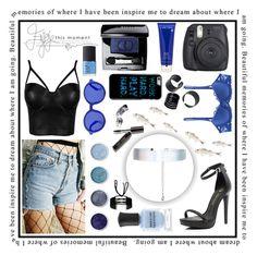 """Black&Blue"" by s-timi ❤ liked on Polyvore featuring Accessorize, Chantelle, Miss Selfridge, Terre Mère, Etnia Barcelona, Fujifilm, Lancôme, Bobbi Brown Cosmetics, Christian Dior and NARS Cosmetics"