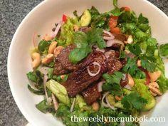 Thai Beef Salad #glutenfree #caseinfree