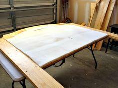Home Sweet Ruby: DIY Upholstered Headboard