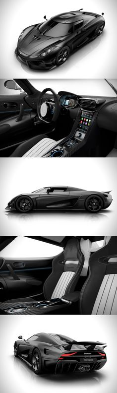 Koenigsegg Carbon Fiber Regera Hypercar