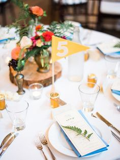 Wes Anderson inspired wedding | Seattle wedding | 100 Layer Cake