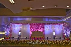Stage Or Mandap Decoration For Outdoor Mysore Weddings Reception Stage Decor, Wedding Stage Backdrop, Wedding Stage Design, Wedding Mandap, Wedding Venues, Wedding Gate, Wedding Entrance, Entrance Decor, Marriage Hall Decoration