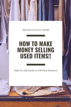 This is my guide on how to start selling on Mercari and Poshmark (and there are many more platforms out there). Start making money from home by thrift flipping and reselling used items. This was a crash course/thrift flipping for beginners, but I would love to go more in depth on the reselling process if you guys are interested!