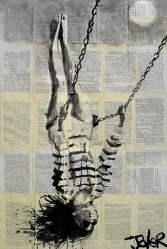 "Saatchi Online Artist Loui Jover; Drawing, ""flight"" #art"