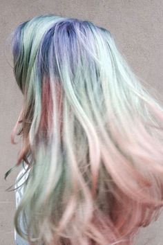 Opal Hair Is The New (Softer) Way To Do Rainbow Hair