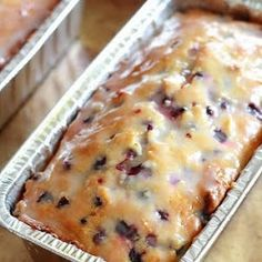 Key Ingredient: Lemon Blueberry Bread