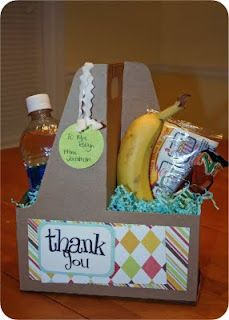 Sonic drink carrier used in Teacher Appreciation gift - Great idea for days that have after-school requirements. Great Teacher Gifts, Cute Gifts, Awesome Gifts, Awesome Stuff, Fun Stuff, Craft Gifts, Diy Gifts, Little Presents, Teacher Appreciation Week