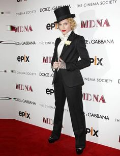 #StyleIcon: Madonna  -Tom Ford three-piece suit