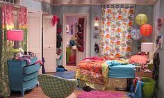 Decoração: o quarto da personagem Penny