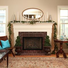 Linden Hills Farmhouse - farmhouse - Living Room - Minneapolis - the gudhouse company    Benjamin Moore Bleeker Beige on the walls.  Benjamin Moore Linen White on the fireplace.