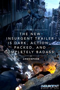 Relive Tris' fear landscape. Click through to watch the teaser trailer again. | Insurgent