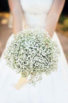 Buquê de flores mosquitinho Foto: bridalguide.com