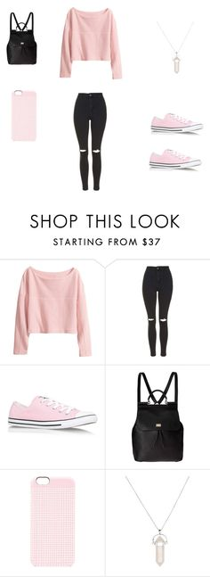 """Sin título #13"" by sara-rodriguez1997 ❤ liked on Polyvore featuring moda, H&M, Topshop, Converse, Dolce&Gabbana, Marc by Marc Jacobs e kiz&Co."