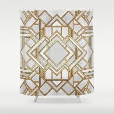 Art Deco 1 Shower Curtain