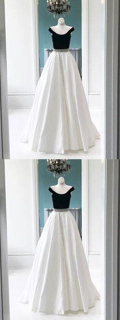 prom dresses,long prom dress,prom 2017,two-piece prom dress