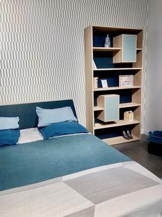 Drugeot manufacture mobilier made in france design bibliothèque bois  camaïeu bleu dans la chambre à coucher a90c77d2b5e