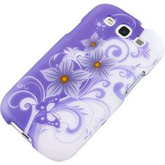 Two Tone Floral Purple #Flower Protector Case for #Samsung Galaxy S III $9.99 From #DayDeal