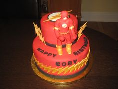 "flash birthday cake | Comics ""The Flash"" birthday cake"