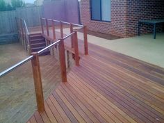Our aim is to construct a building that meets and exceeds customer expectation in relation to quality, individual design and function, We ensure a valuable investment in your home and lifestyle. Balustrade Design, Stainless Steel Handrail, Extension Plans, Outdoor Living, Outdoor Decor, Decking, Carpentry, Landscaping, Backyard