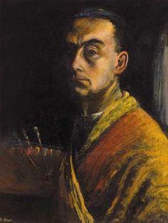 #DEZSÖ_ORBÁN  *  Autorretrato. Paul Cezanne, Henri Matisse, American Words, Chalk Pencil, Artist Bio, Impressionist, Artists, Sydney Australia, Selfies