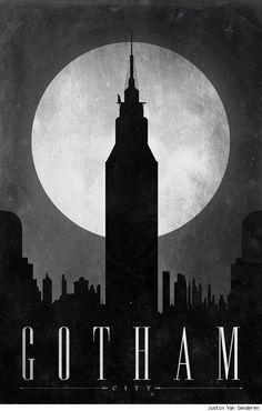 Gotham travel (by Justin Van Genderen)