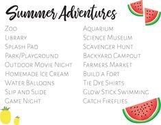Summer Rhythms & Adventures   Lacey Rabalais