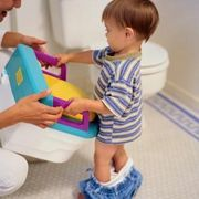 To potty train a 1-year-old boy who cannot talk, you will need to use a quick training method, not one that takes days or weeks and relies on the child's ability to understand long-term planning and rewards. Fortunately, this type of potty training has been used for generations in traditional cultures around the world and even in America prior to...