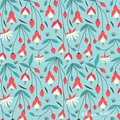 mexican flower designs | Mexican Flower Designs Olwen :: surface design