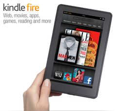 Kindle Fire looks cool. I'm convinced the tablet wars will be won by who supplies the best content not by android or apple. Kindle Fire Tablet, Amazon Kindle Fire, Thing 1, Multi Touch, Christmas Wishes, Christmas Gifts, Merry Christmas, Looks Cool, Tecnologia