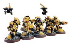 I've just finished painting a squad of Breachers for my Tau Empire army. I've recently been going through my Tau collection and repainting. Tau Army, Tau Warhammer, Fire Warrior, 40k Armies, Minis, Tau Empire, Warhammer 40k Miniatures, Fantasy Miniatures, Mini Paintings