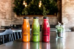 Cold pressed juices: organic juices