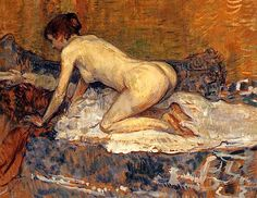 Toulouse-Lautrec - 1897 Crouching Woman with Red Hair