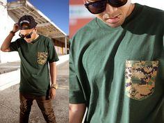 camiseta com bolso estampado (6)