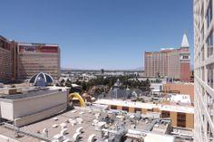 Las Vegas views from our Harrah's balcony