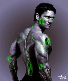 Cyborg-man by Portizpjo on DeviantArt