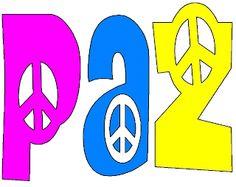 dibujos letras dia de la paz-Imagenes y dibujos para imprimir