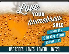 Homebrew Finds: Austin Homebrew Supply: $5, $10 or $20 Off