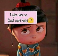 Sad quotes, cute girls quotes, brandedshayar, cute status for girls Cute Baby Quotes, Funny Quotes In Hindi, Funny True Quotes, Girly Quotes, Small Quotes, Family Quotes, Happy Quotes, Funny Attitude Quotes, True Feelings Quotes