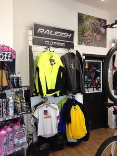 Bicycle Clothing at our bike shop in Shoreham by sea West Sussex