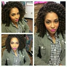 gorgeous twist out...cant wait until i hit this length!