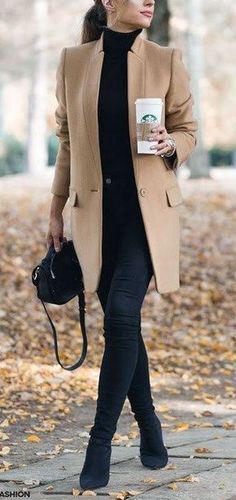 25 All Black Women Work Outfit Styles In 2017 #womenworkoutfits #comfortablewomenshoesforwork