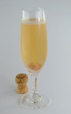 CHAMPAGNE COCKTAIL - We can trace the recipe of this all-time classic cocktail back to 1862.