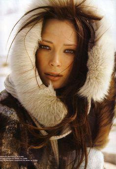 Cover Story | Tiiu Kuik by Åsa Tällgård for Elle Norway --one of my favorite models