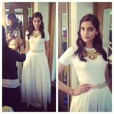 Sonam Kapoor during Bewakoofiyan promotions