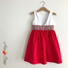 alice balice | robe de cortège | petite flle enfant d'honneur | couture | sewing | Liberty of London | patron couture | mariage | wedding