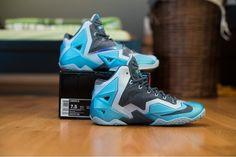 sports shoes da472 0374b Lebron XI Armory Slate-Gamma Blue