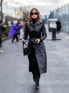 Try a leather coat