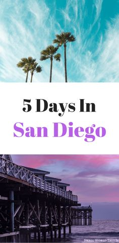 Heading to America's Finest City soon? Here's a complete San Diego itinerary for 5 days including visiting La Jolla Gaslamp Quarter Little Italy Balboa Park and the picturesque North County beach cities of Del Mar Encinitas and Carlsbad San Diego Vacation, San Diego Travel, San Diego Beach, San Diego Balboa Park, San Diego Trip, San Diego Tours, Carlsbad California, California Travel, Encinitas California