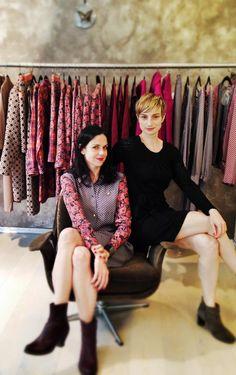 Robe Caramel et Robe en maille Cotignac / Collection 66