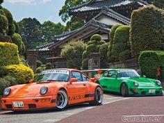 RWB Porsche 911 in Japan